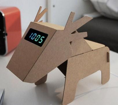 纸板制作鹿的步骤