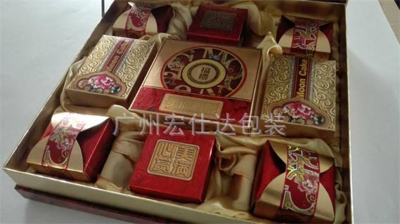 【广东清远】老客户再次采购宏仕达公版月饼盒