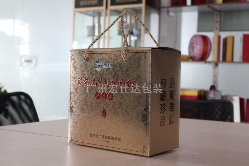 广东养生酒保健品包装盒定制 选性价比之王