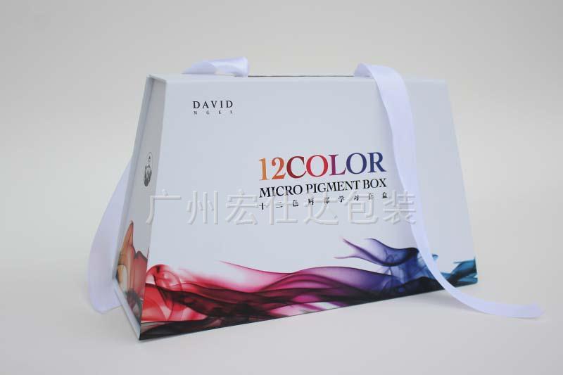 """简洁明朗的手提式包装盒才是化妆品包装的""""真爱"""""""
