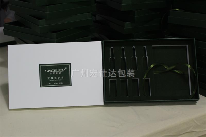 百里挑一 化妆品盒定制,宏仕达包装更受客户喜爱