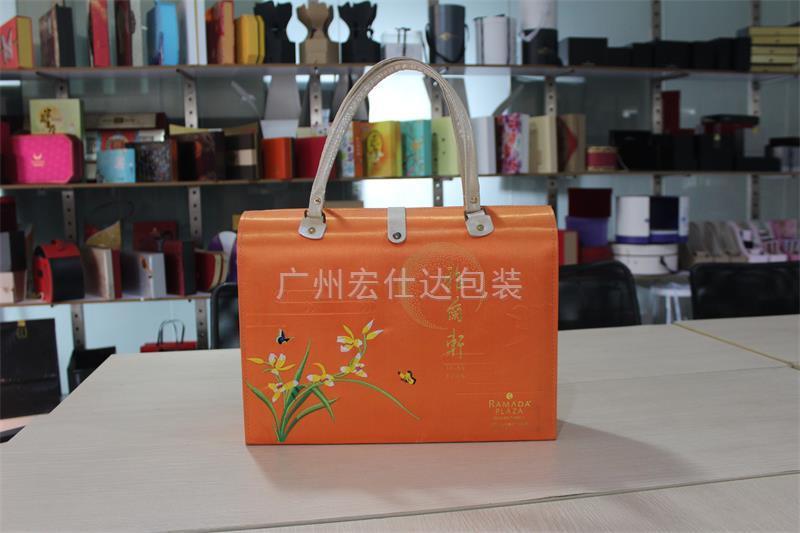 【湖北】武汉华美达执行酒店月饼盒核心元素 有宏仕达锦盒包装