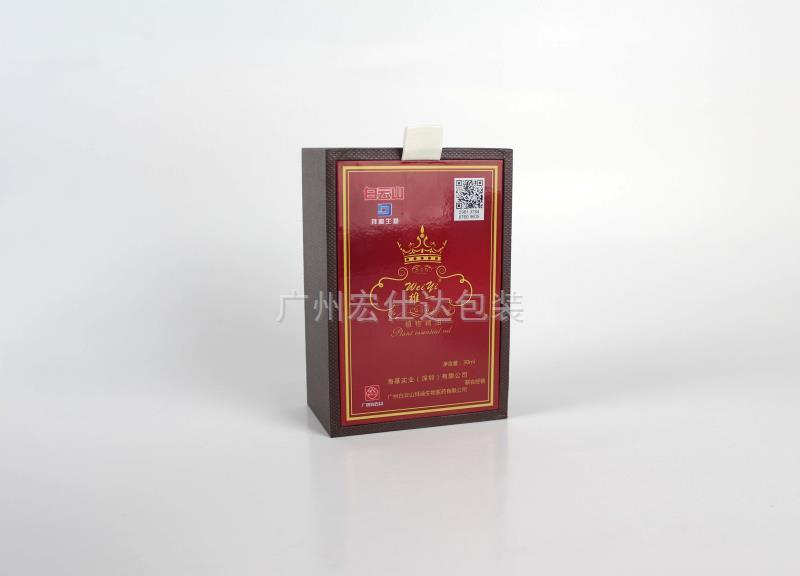 【品位独特】广州客户都喜欢的白云山精油包装盒