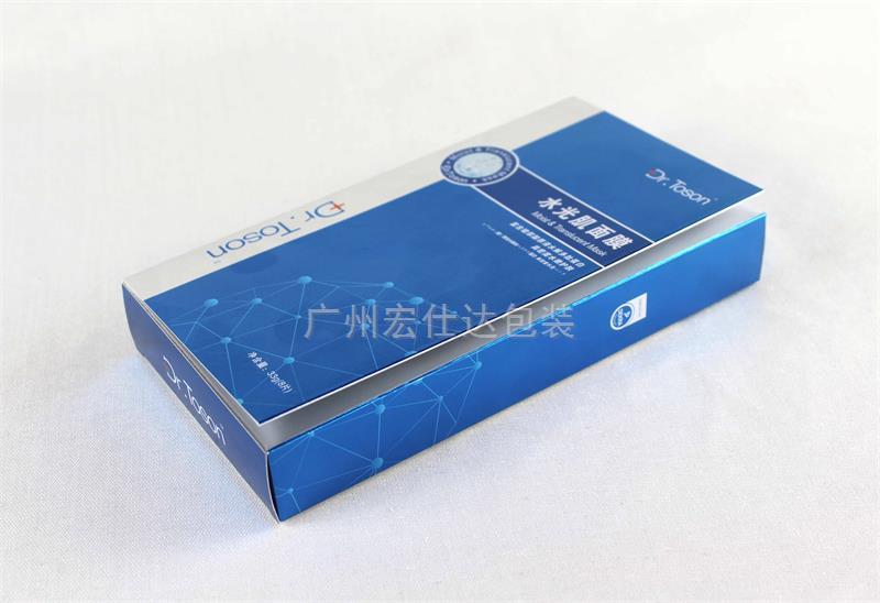 为什么金银卡纸化妆品盒销量大?高端工艺和颜值是优势