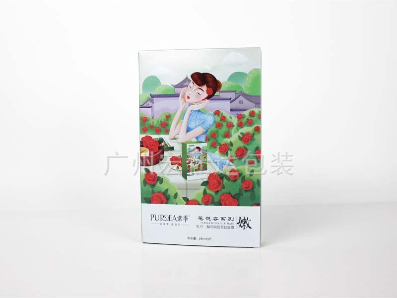 【化妆品公司】广州中马定单不断 中国古韵系列面膜包装盒