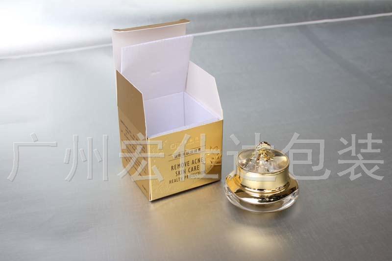 去除同质化,就是宏仕达包装金银卡化妆品盒