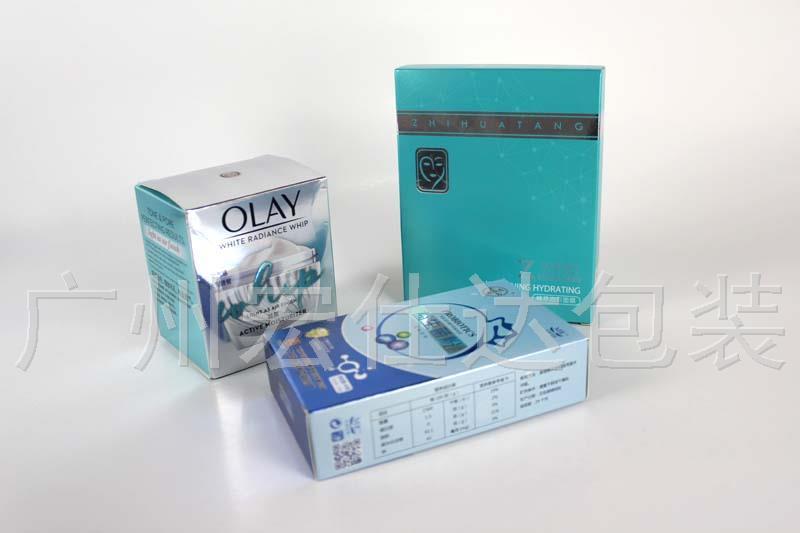实力广州包装盒厂家,用金银卡包装盒满足市场需求