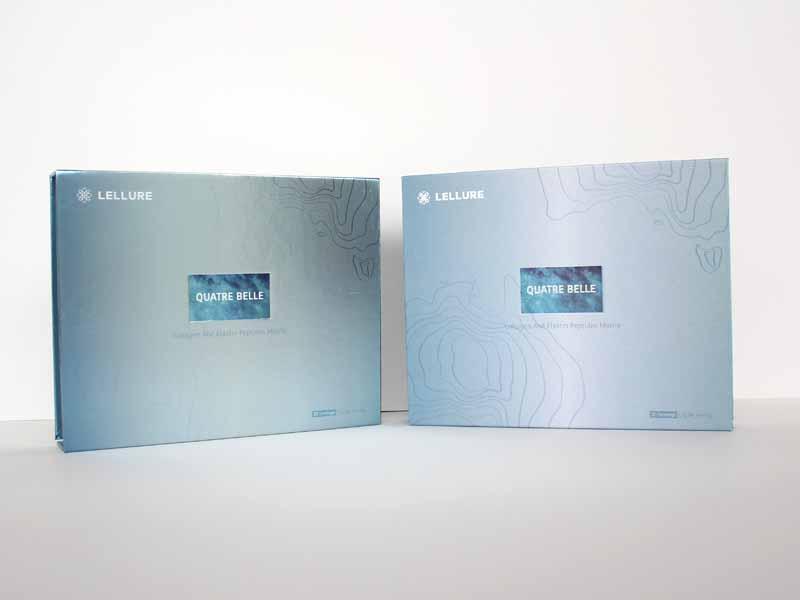 【金银卡纸面膜包装盒定制】宏仕达包装 化妆品公司新品包装不错的选择