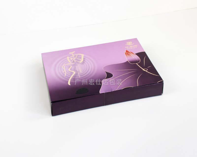肤蔻化妆品公司套装产品 用金银卡化妆品套装包装盒