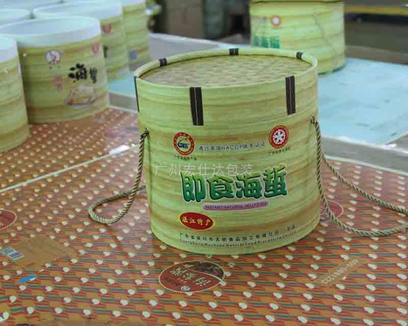 【广东】吴川市湛江特产 迎来宏仕达圆筒式海蜇包装盒