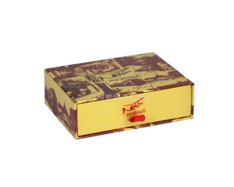 【中东客户】广州外贸公司定制出口品质沙特糖果包装盒