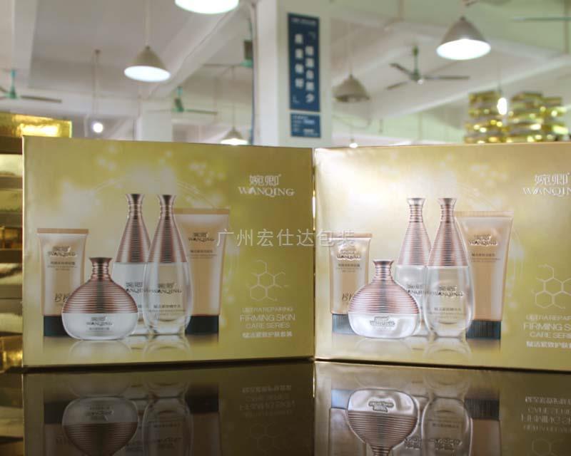 【广东】化妆品套装配套包装盒 就用宏仕达造