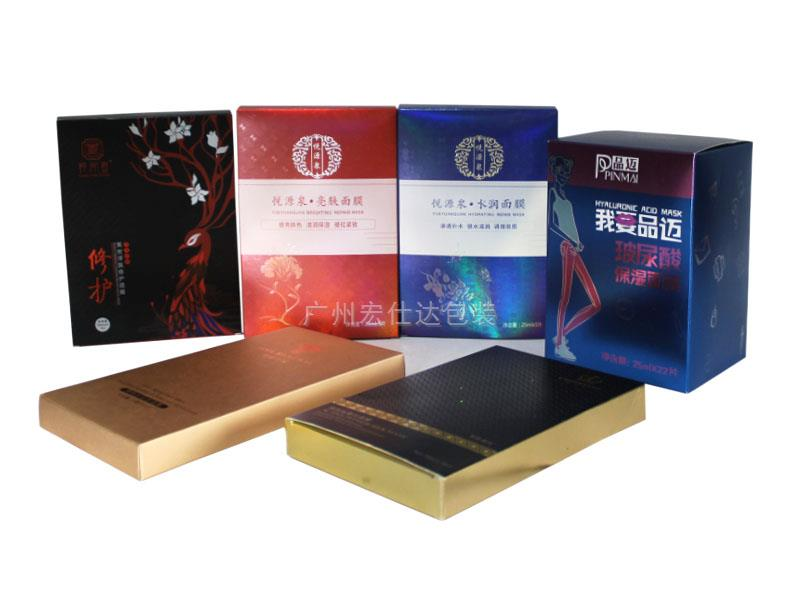 【合版印刷厂家逆向uv】宏仕达 化妆品包装盒定制的印刷工艺选择
