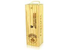 单支木质酒盒