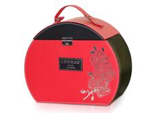 CONRAD月饼盒,皮盒