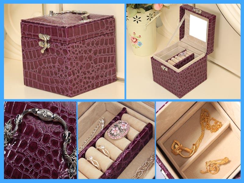 皮盒,高档首饰皮盒