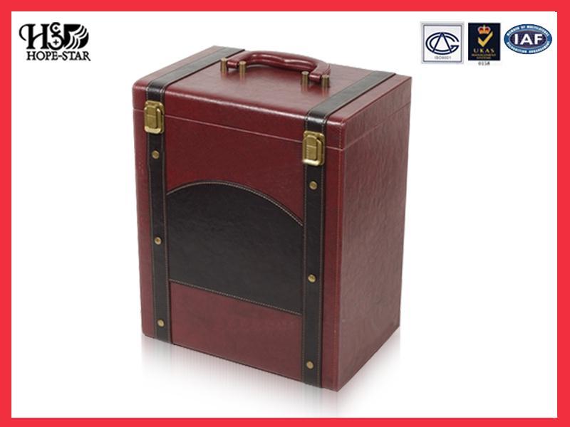 红酒pu盒