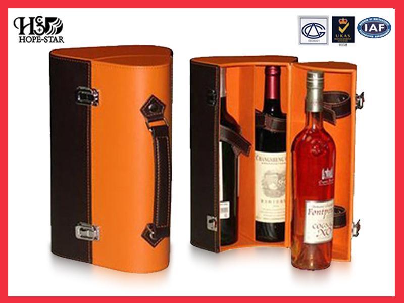 高档红酒皮盒