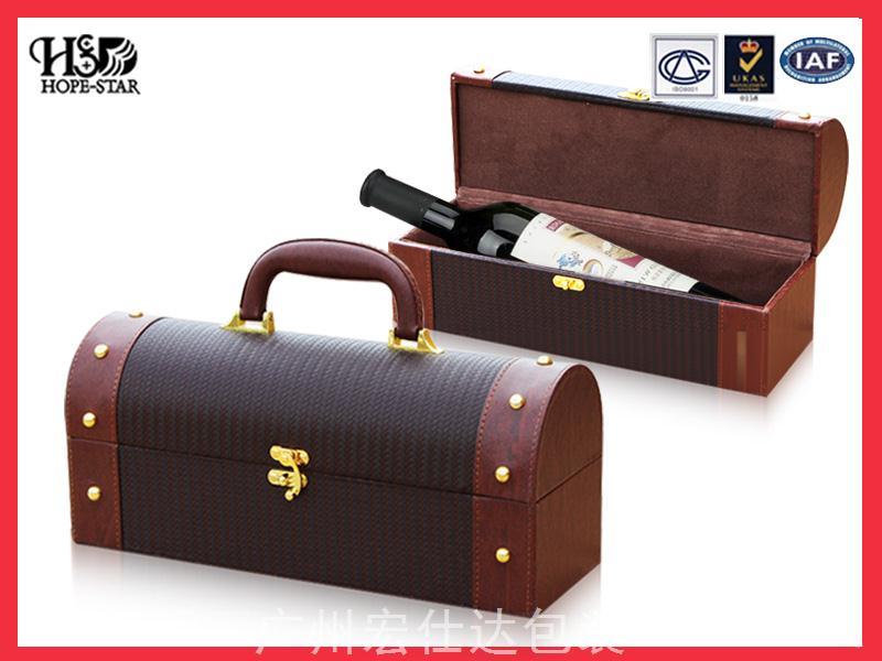 红酒皮盒-单支装