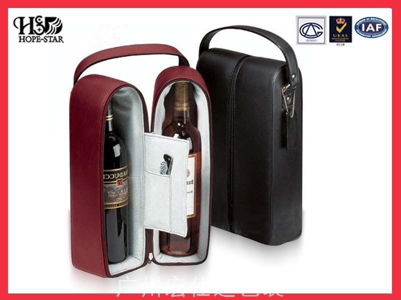 红酒皮套包