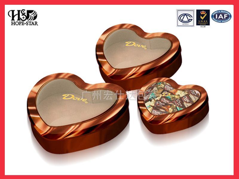 巧克力盒(心形盒)