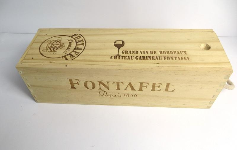 2014木酒盒、原色木质红洒盒定制
