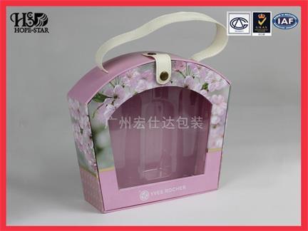 手提式化妆品包装盒