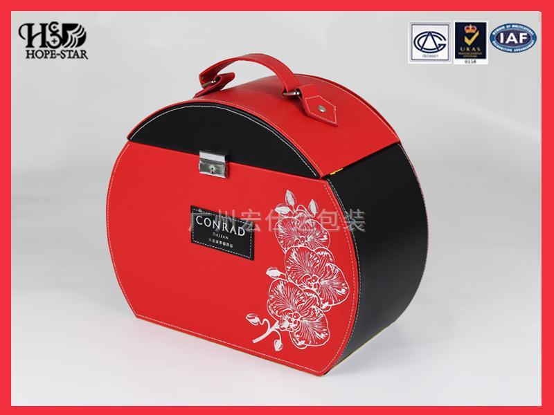 月饼盒皮盒定制