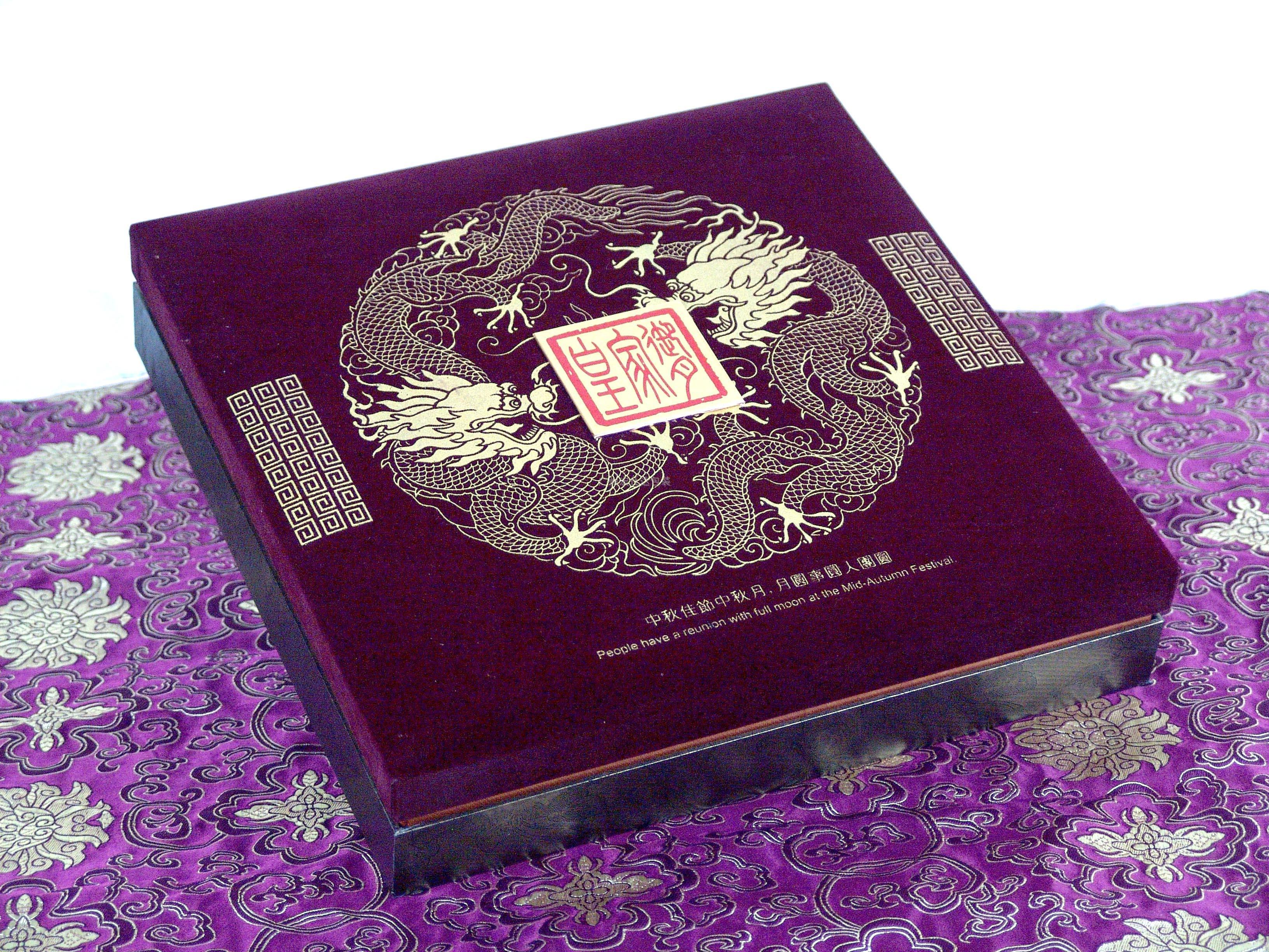 锦布月饼包装盒