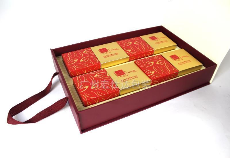 手提式书形月饼盒定制