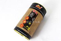 豪爽灵之溪黄茶茶叶圆形包装盒子