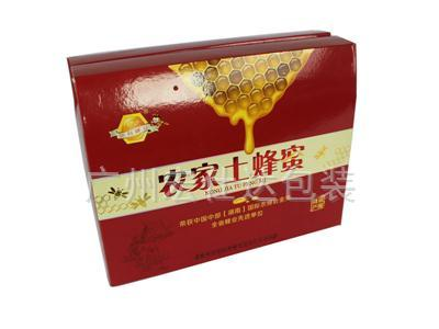 土蜂蜜保健品包装盒
