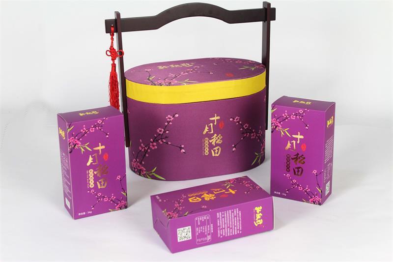 手提式土特产包装盒