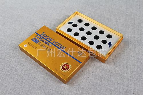 蛹虫草药品包装盒定制