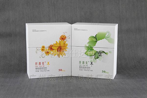 固体饮料保健品包装盒定制