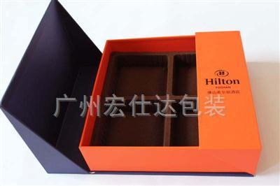 希尔顿酒店月饼盒