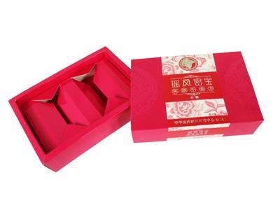 【火柴盒式】保健品包装盒