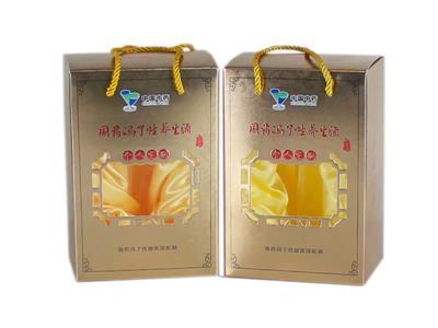 冯了性养生酒保健品包装盒定制