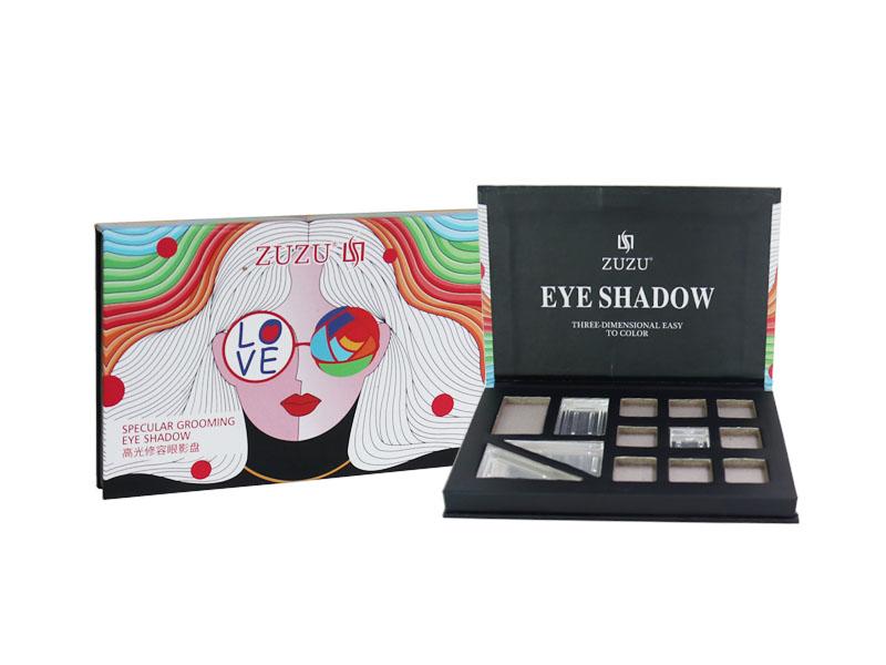 化妆品包装盒(眼影盒)